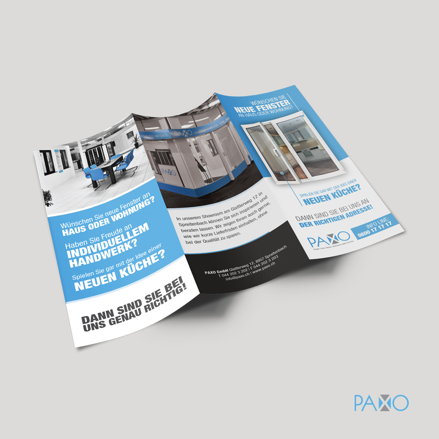 Paxo Brochure Mockup Outside
