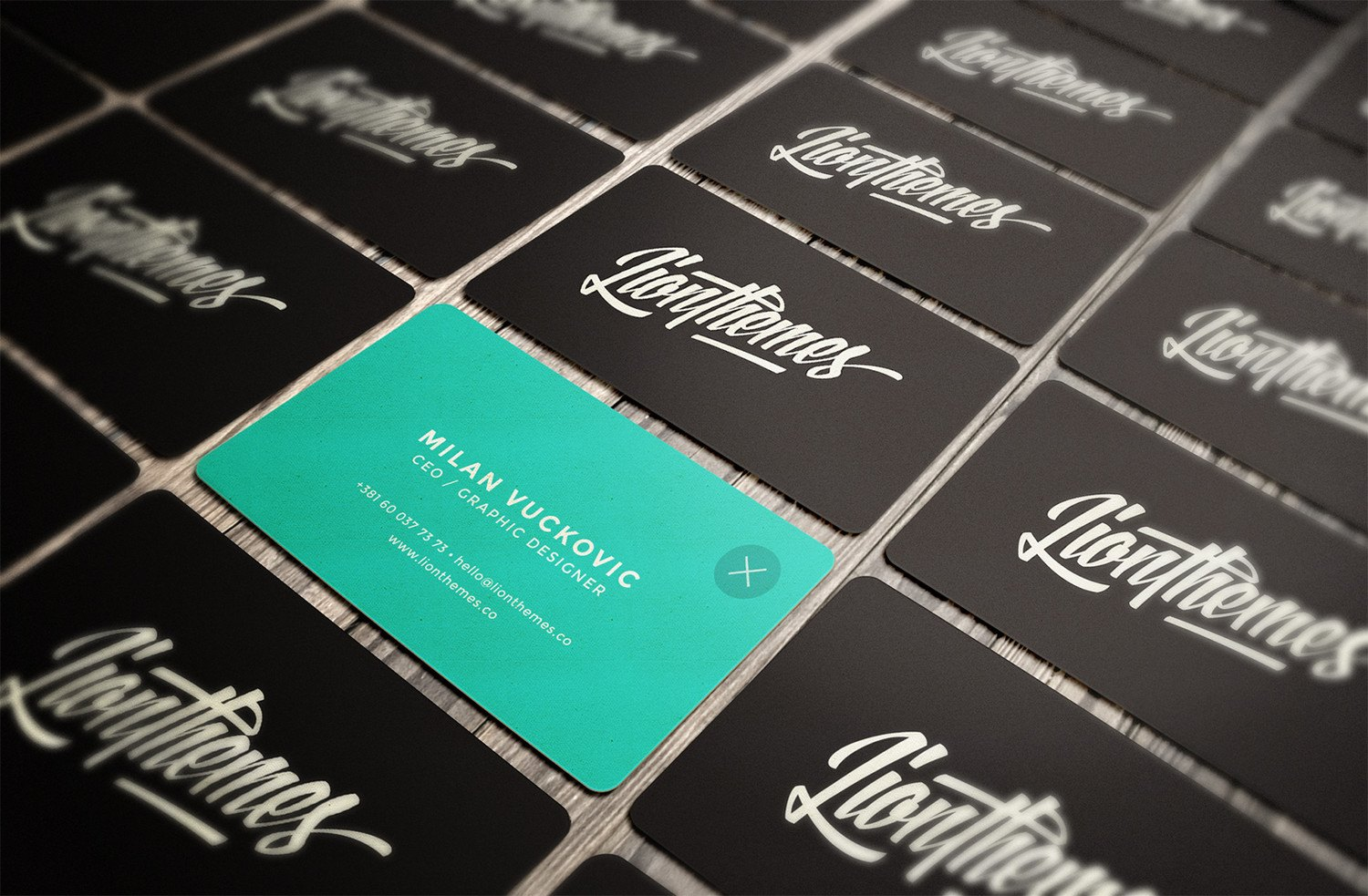 Lionthemes Business card