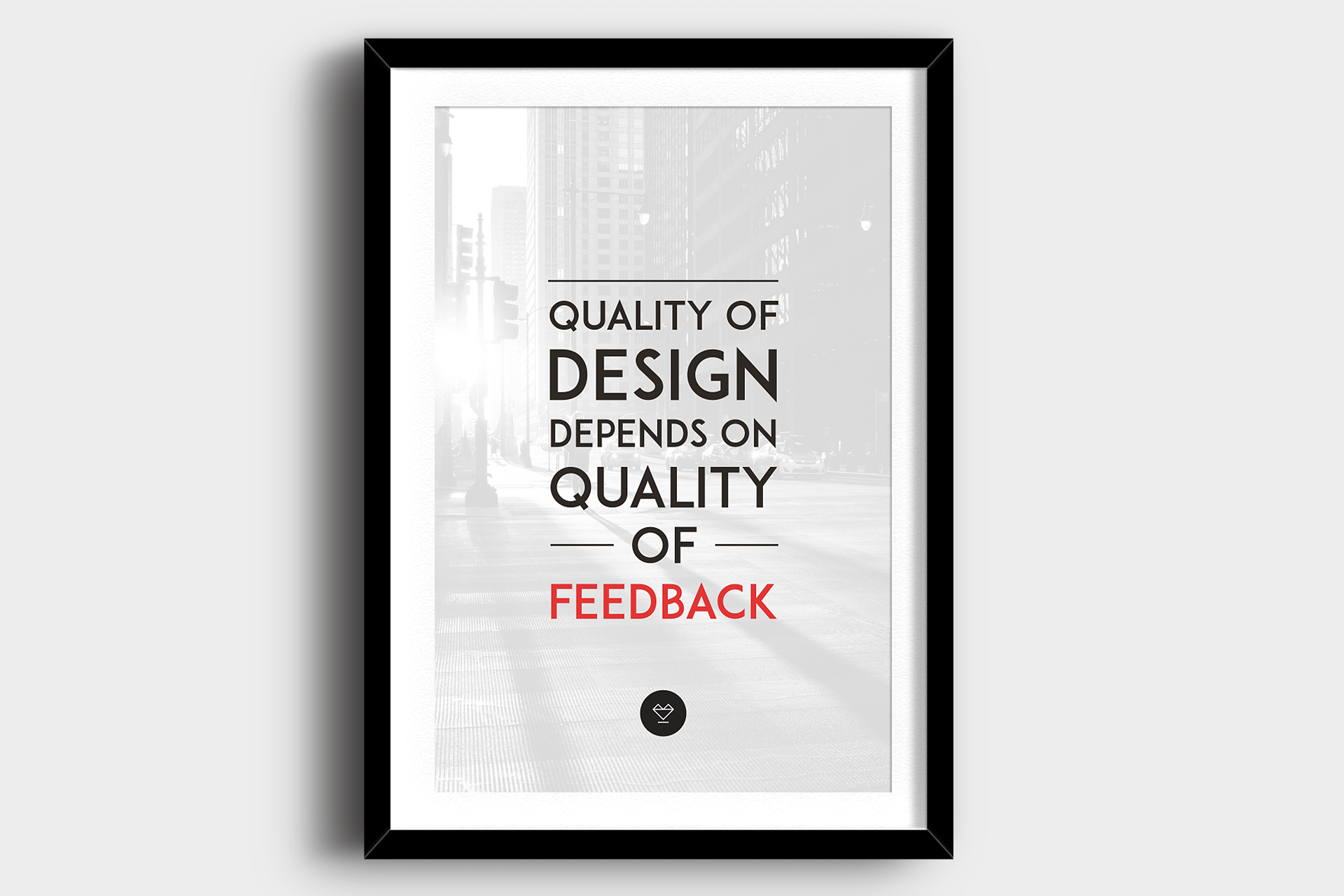 Quality of Design Poster